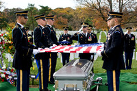 Mike Kim Funeral Arlington National Cemetery