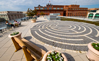 American Psychological Association Green Roof and Labyrinth by Len Spoden 0006