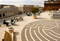 American Psychological Association Green Roof and Labyrinth by Len Spoden 0001