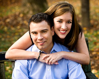 Meadowlark Gardens Vienna VA Engagement Photos